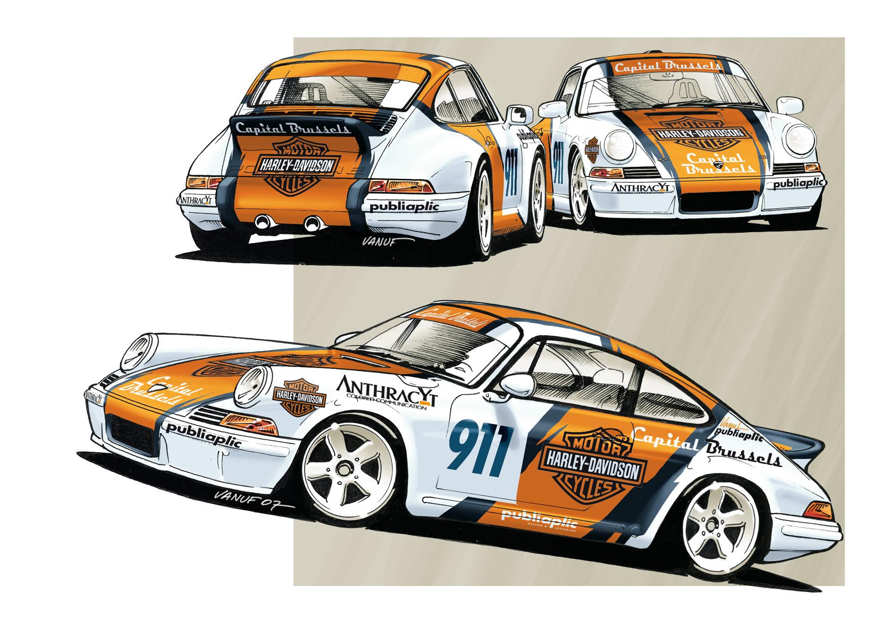 Duez Porsche 911