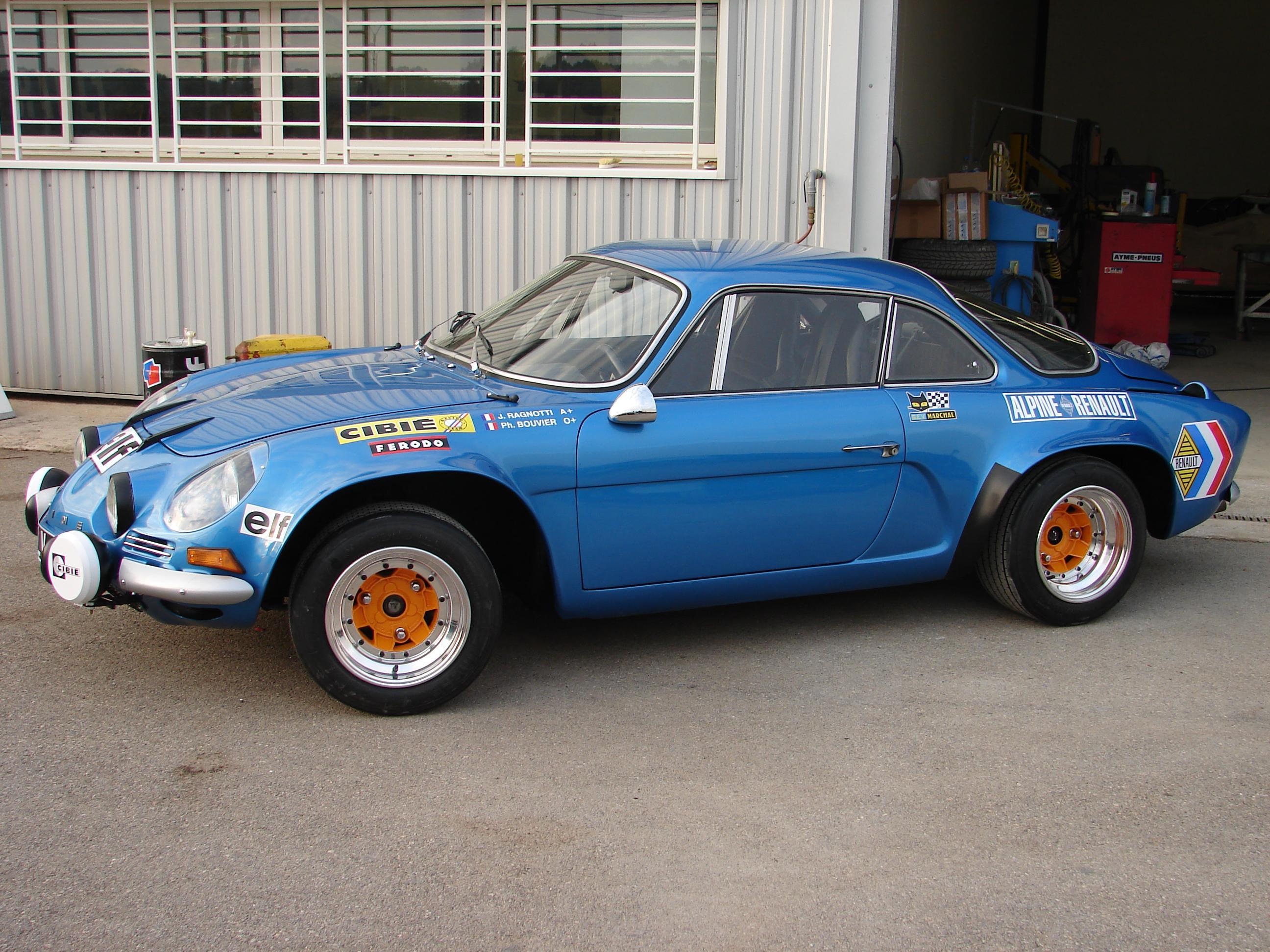 Jean Ragnotti Alpine A110
